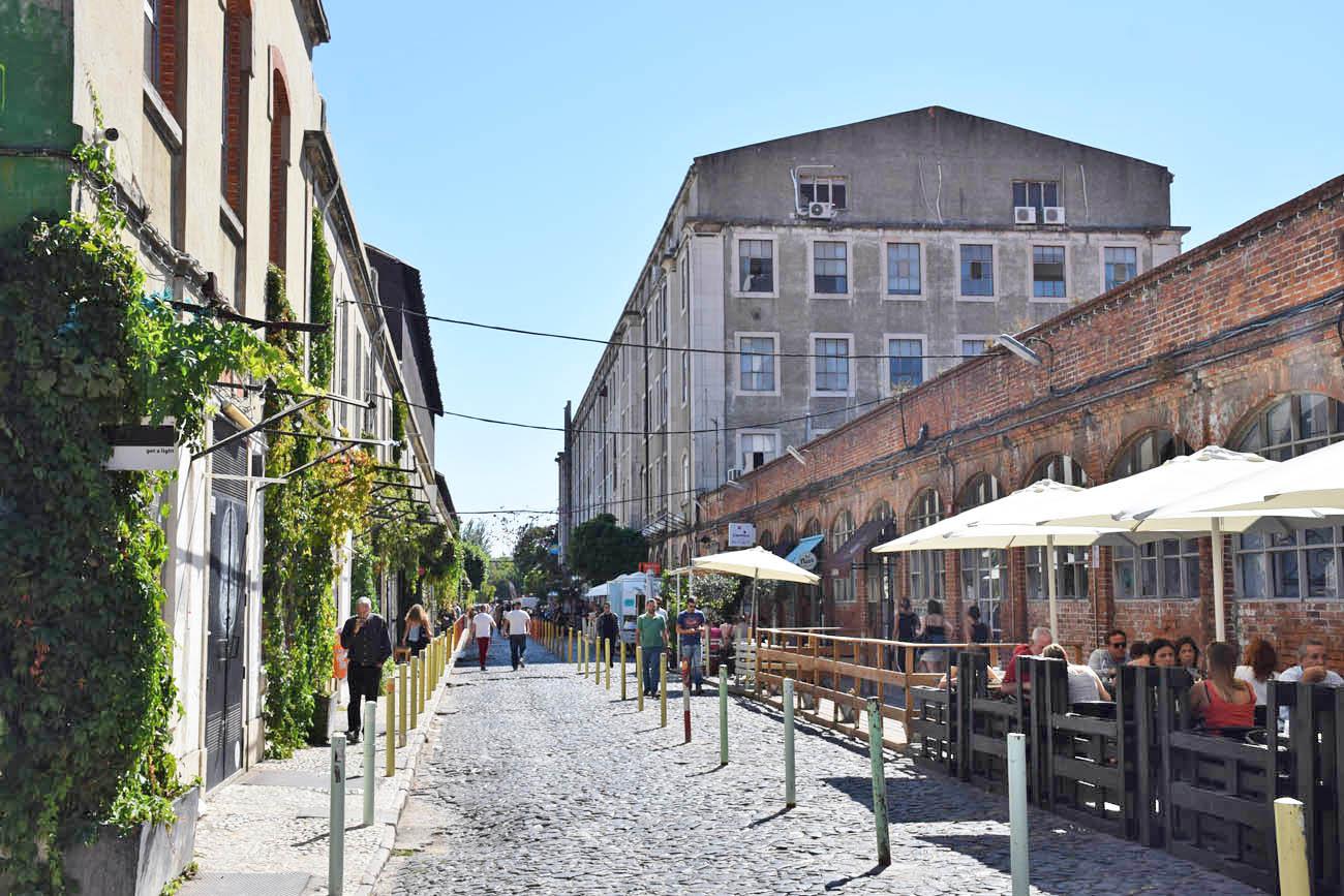 Lx Factory lisboa portugal