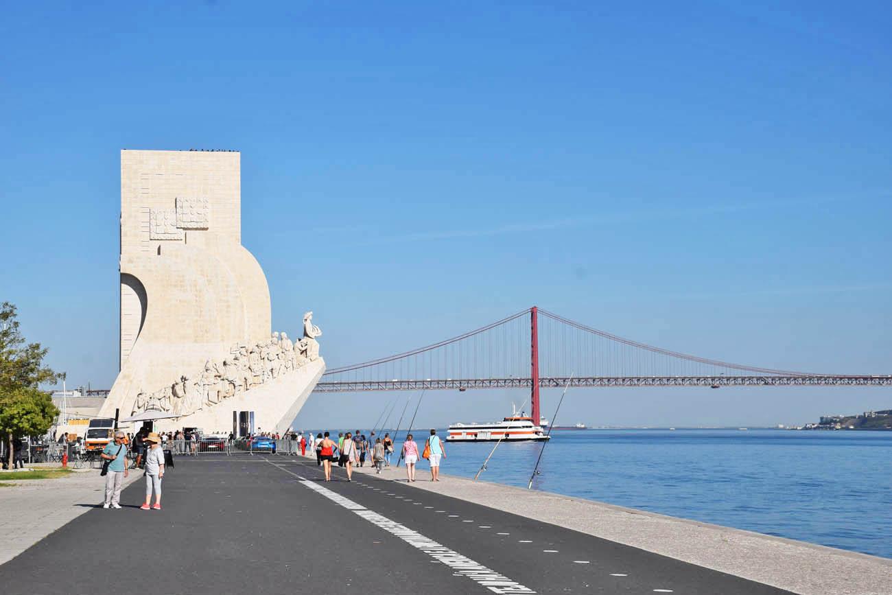 Padrão Monumento dos Descobrimentos - belém - Lisboa - Portugal