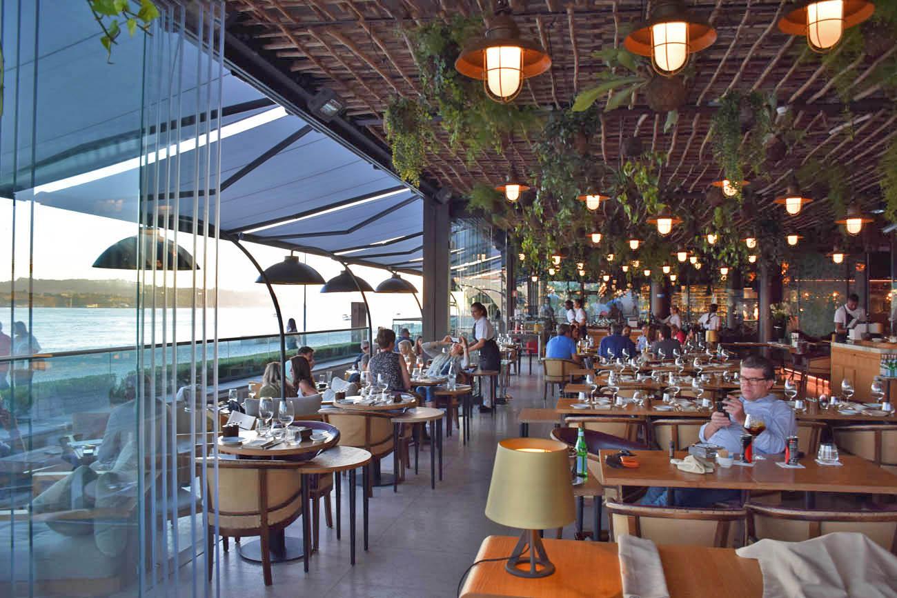 Restaurante SUD terraza lisboa