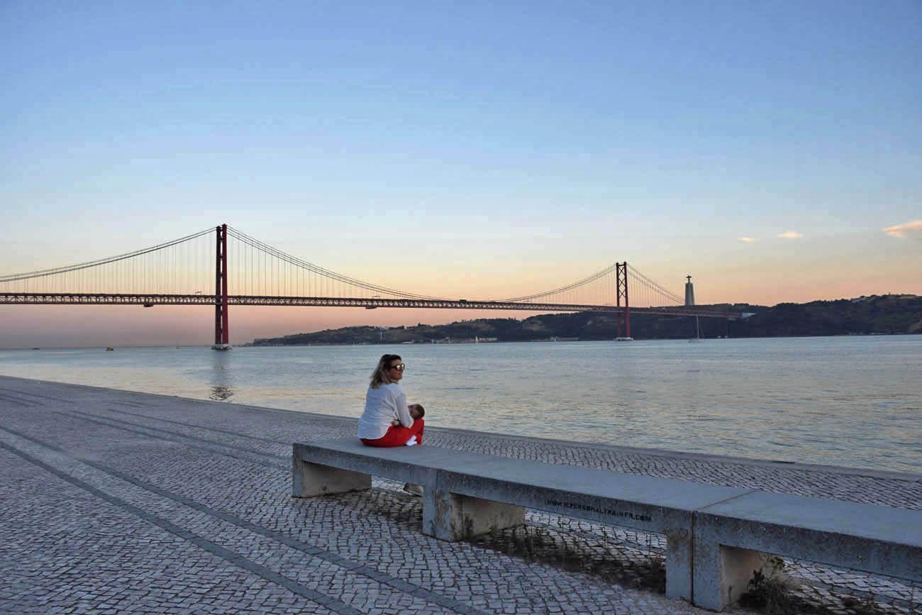 Dicas de Lisboa - Belém - Rio Tejo - Ponte 25 de Abril