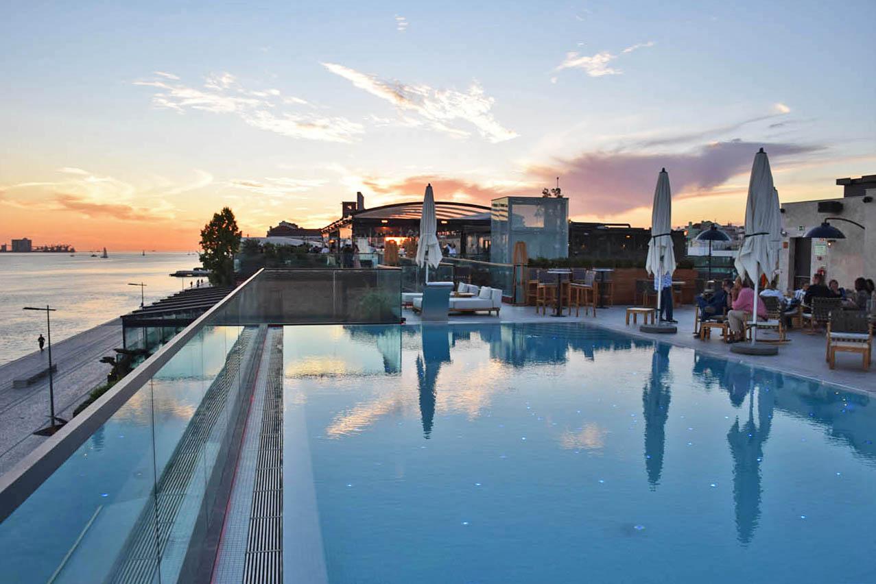 Restaurante SUD terraza lisboa piscina