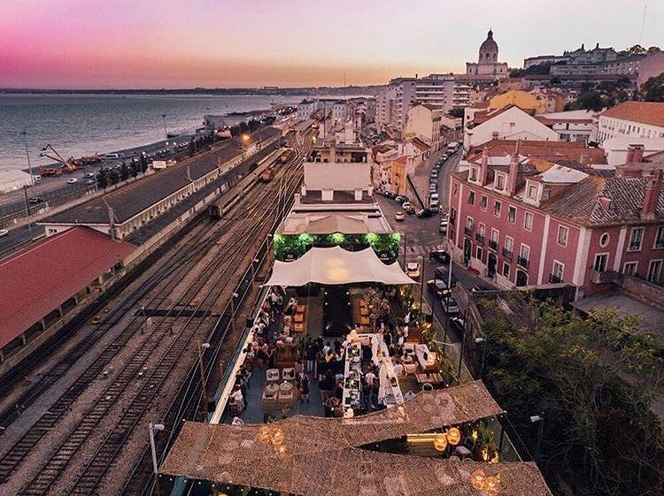ferroviario bar e terraco lisboa