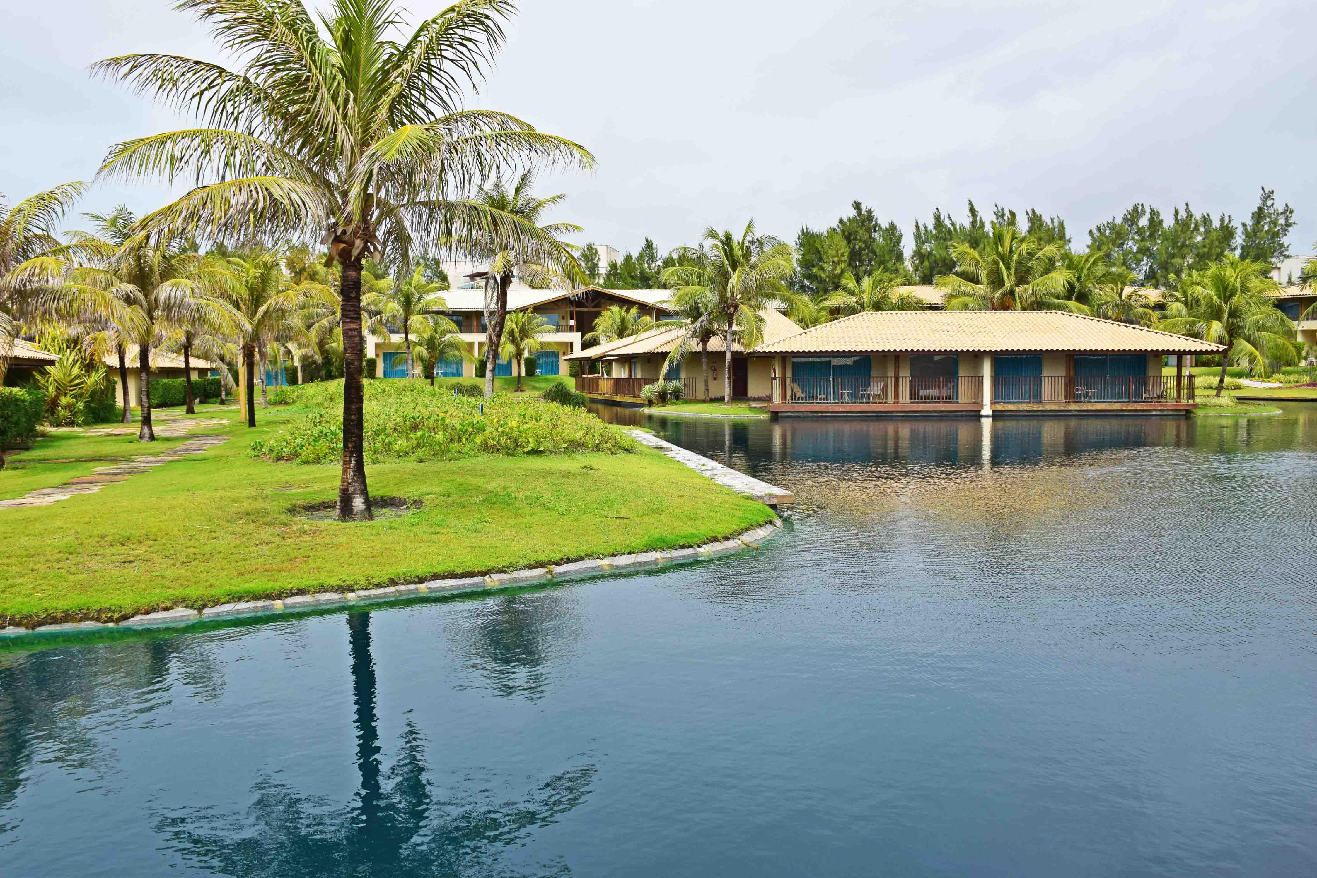 hotel dom pedro laguna ceara aquiraz bangalos