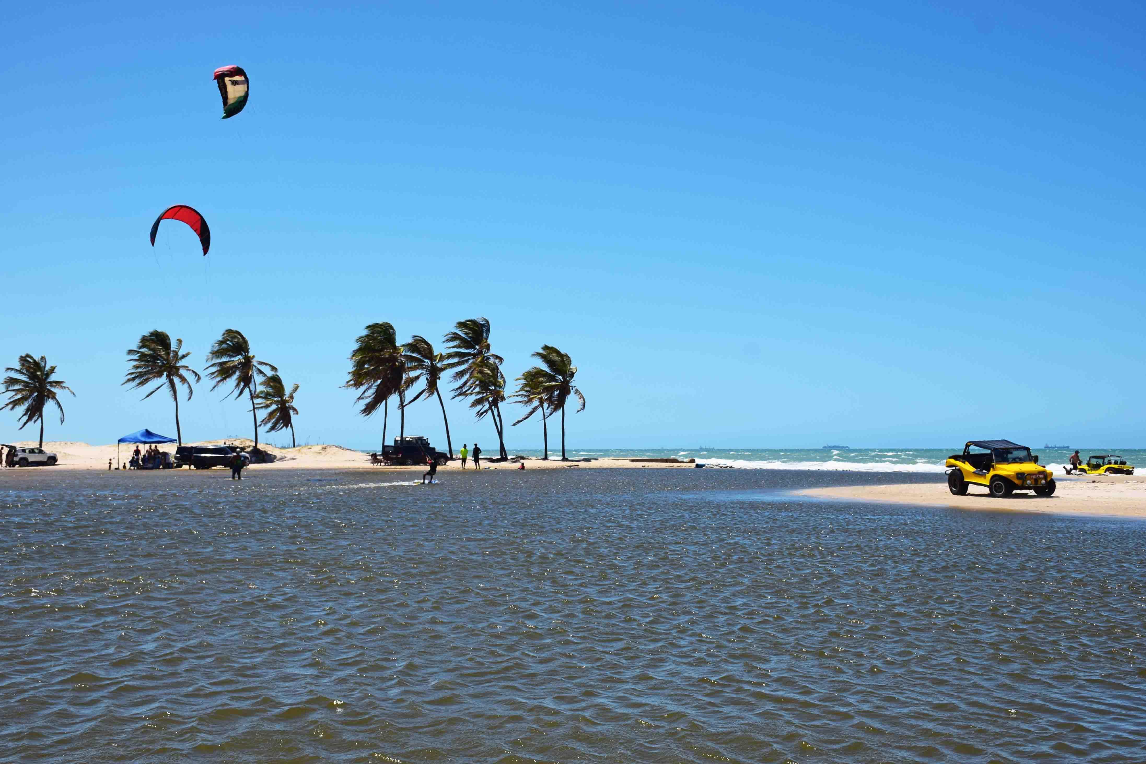lagoa do kite cumbuco