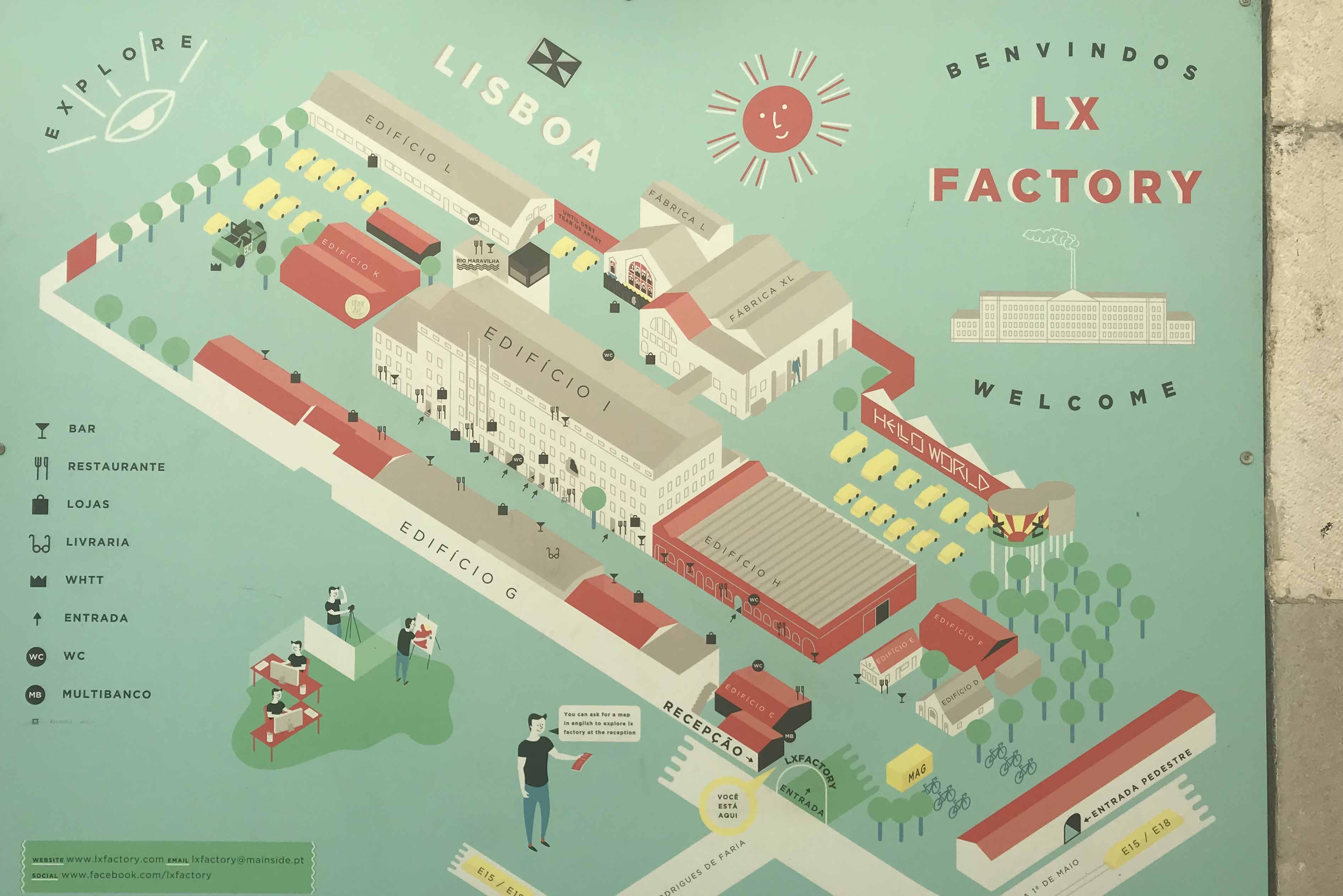 LX FACTORY LISBOA