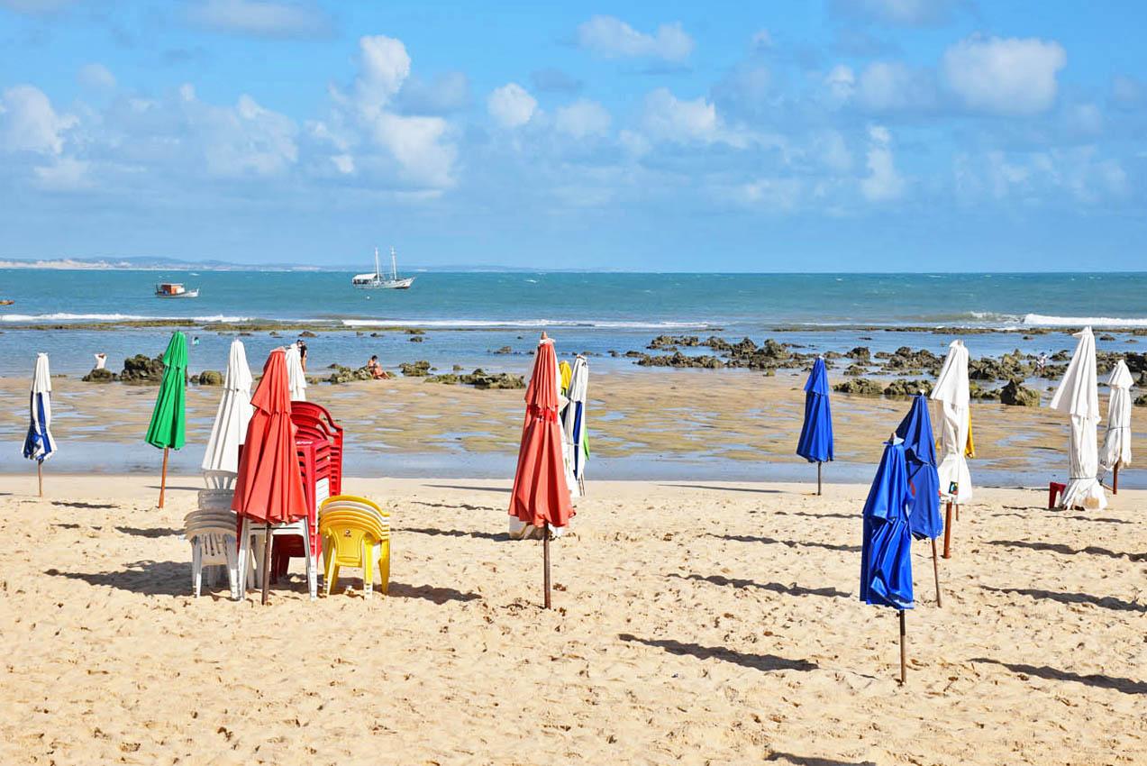 Praia do Centro - Praia da Pipa - Lala Rebelo
