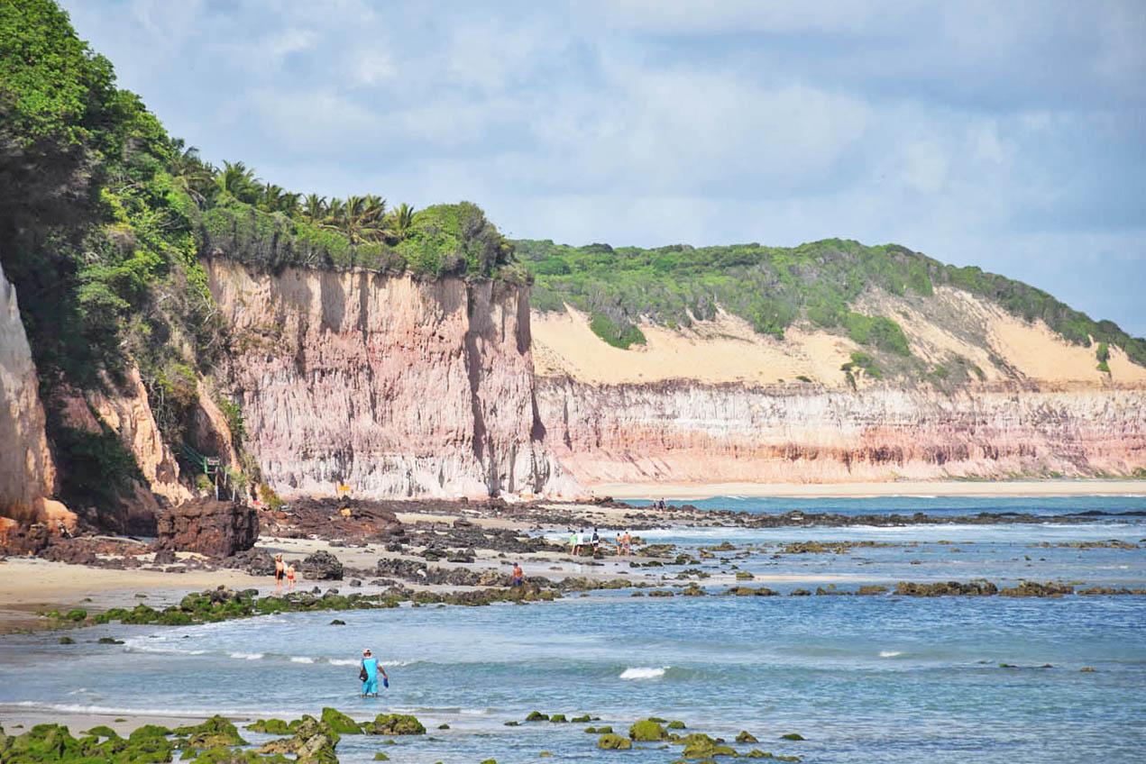 Praia do Centro - Praia da Pipa - Baía dos Golfinhos - Lala Rebelo