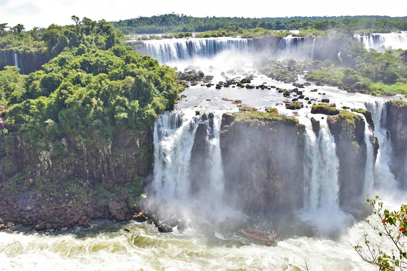 cataratas do iguaçu - lado brasileiro