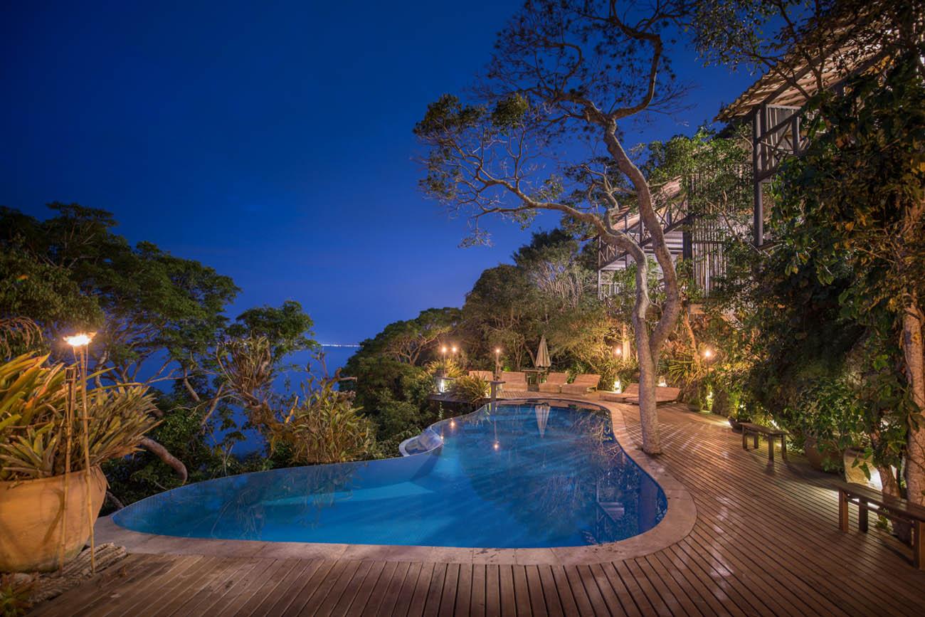 Hotéis charmosos em praias do Brasil - Enseada das Garças - São Pedro da Aldeia - Região dos Lagos - RJ