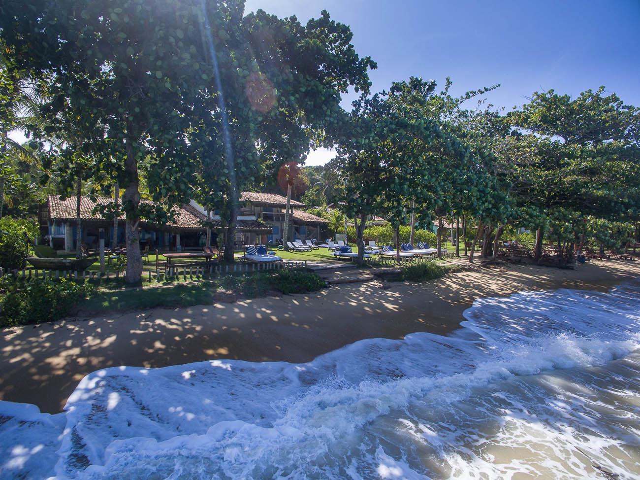 Hotéis charmosos em Praias do Brasil - Pousada-Bendito-Seja- praia do espelho - BA