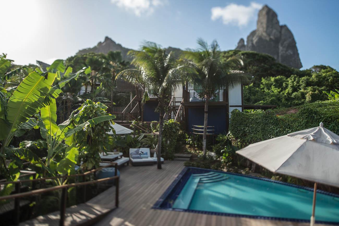 Hotéis charmosos em praias do Brasil - Pousada Teju Açu Fernando de noronha