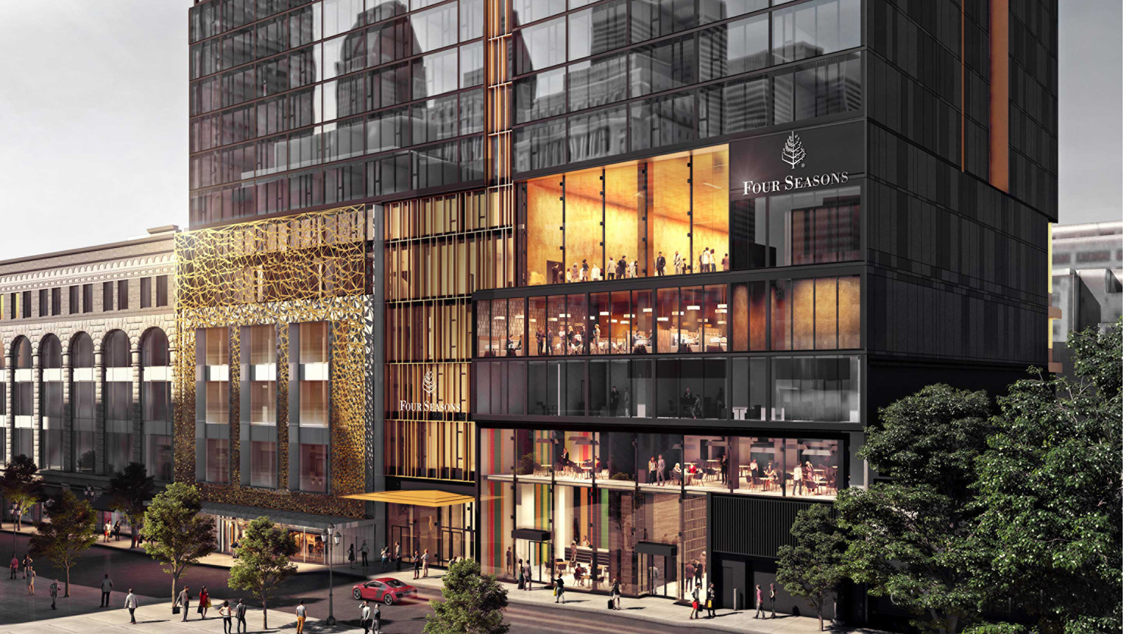 Four Seasons Hotel and Private Residences Montreal