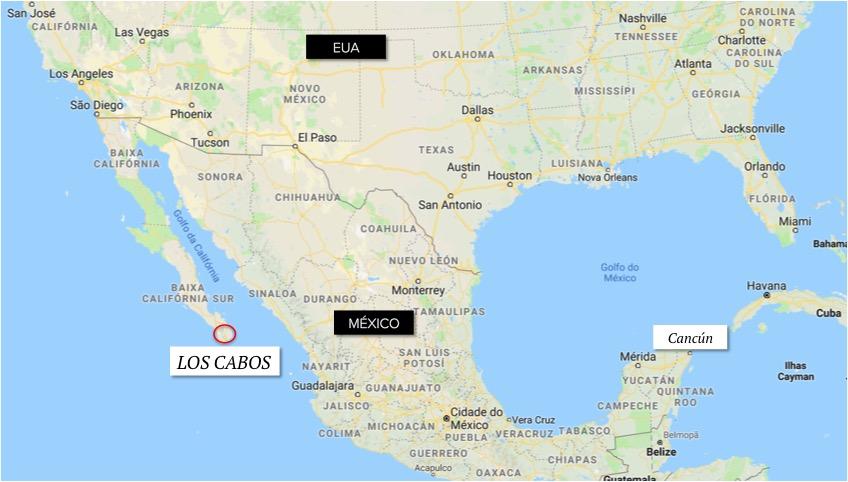 localizacao los cabos mexico - onde fica