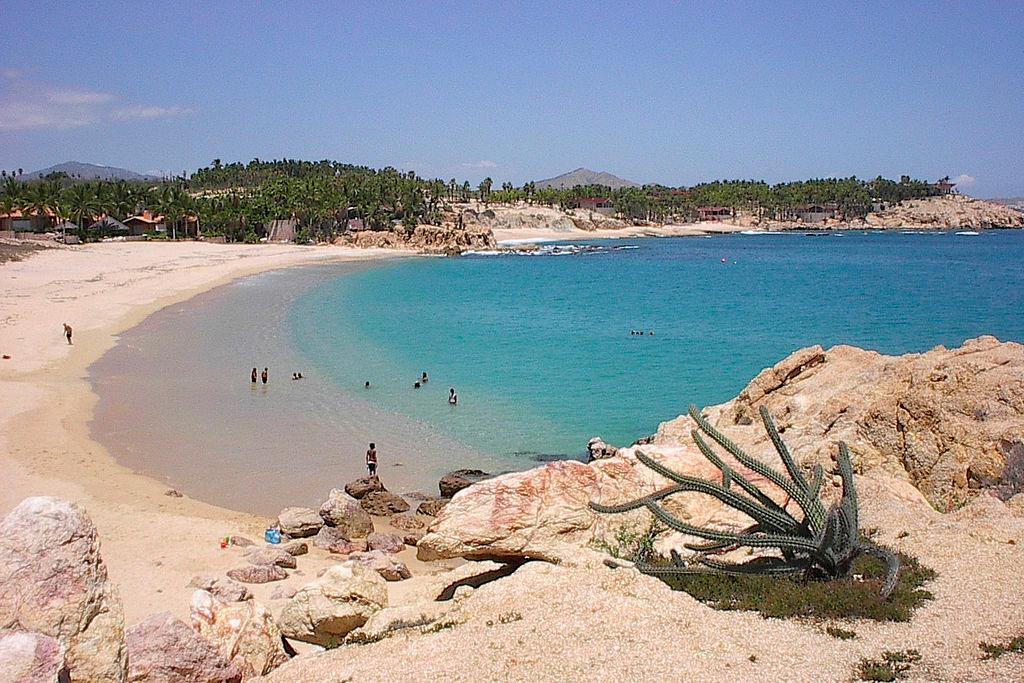 Praia Chileno Bay Los Cabos México - própria para banho - pode nadar