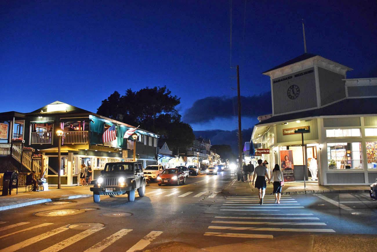 Lahaina - front street - Maui - Hawaii