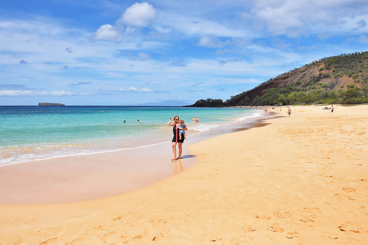 Big Beach - Makena State Park - Maui - Hawaii