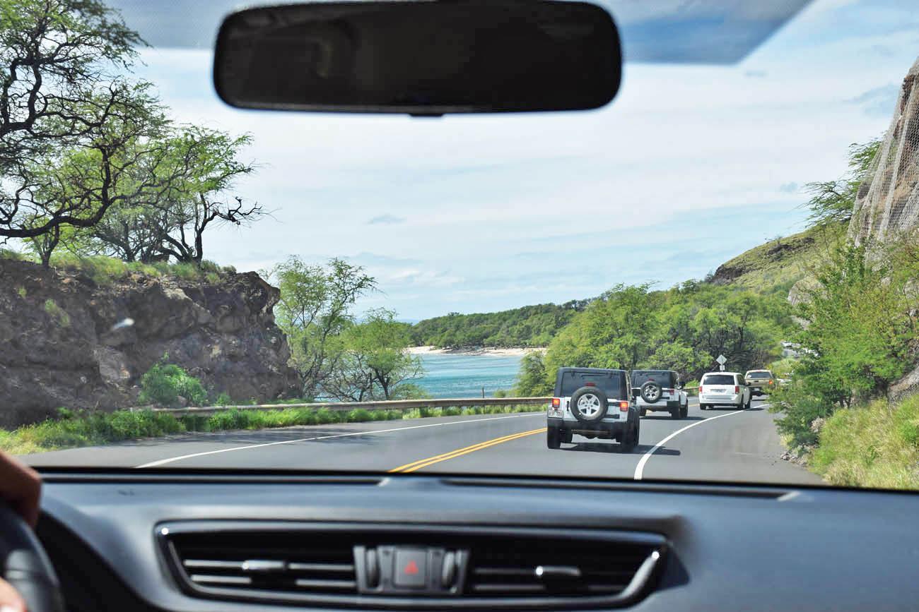 dirigir no havaí - aluguel de carro