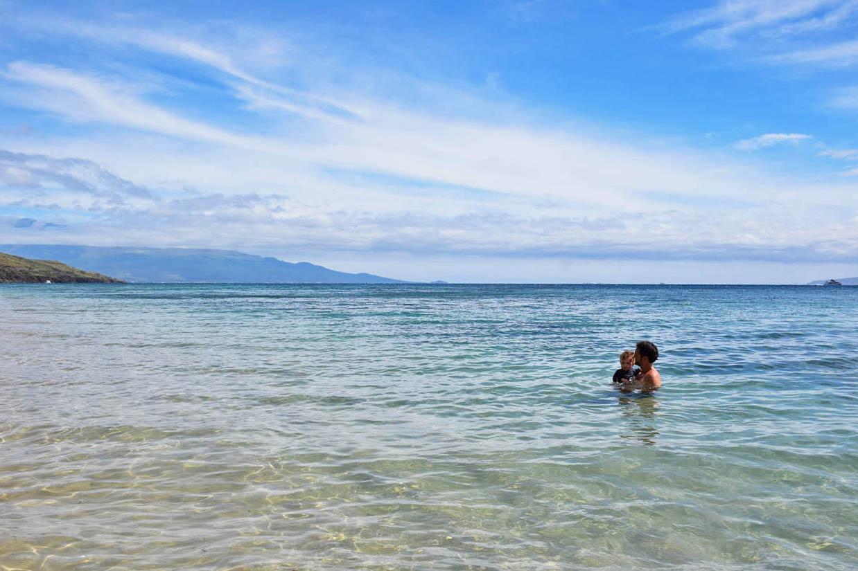 as praias mais bonitas de maui - Ukumehame Beach - Havaí