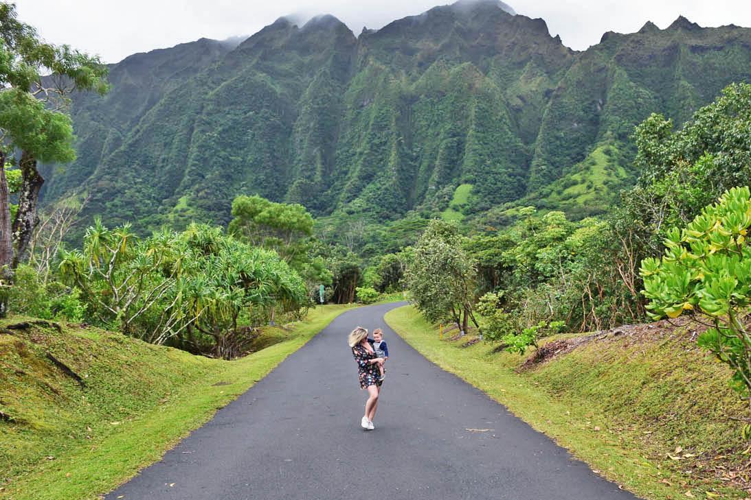 Hoomaluhia Botanical Garden - Oahu - Hawaii
