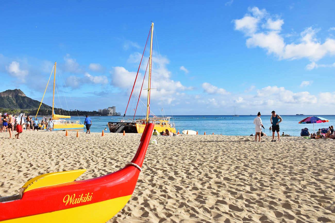 waikiki beach - honolulu - oahu -havaí