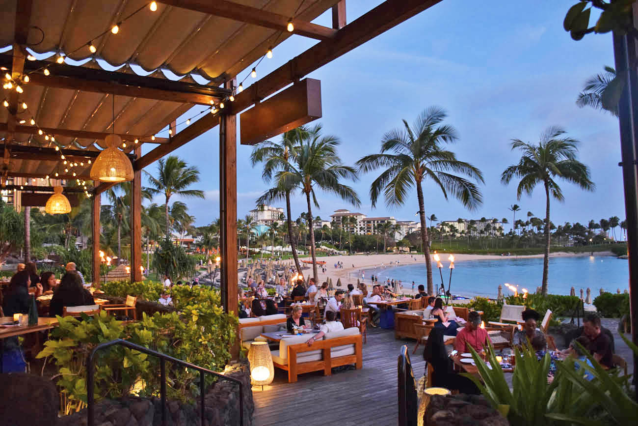four seasons oahu hawaii restaurants - mina's fish house