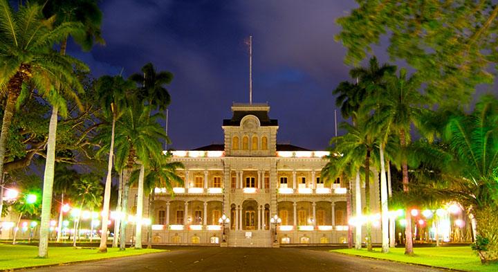 Iolani-Palace oahu hawaii
