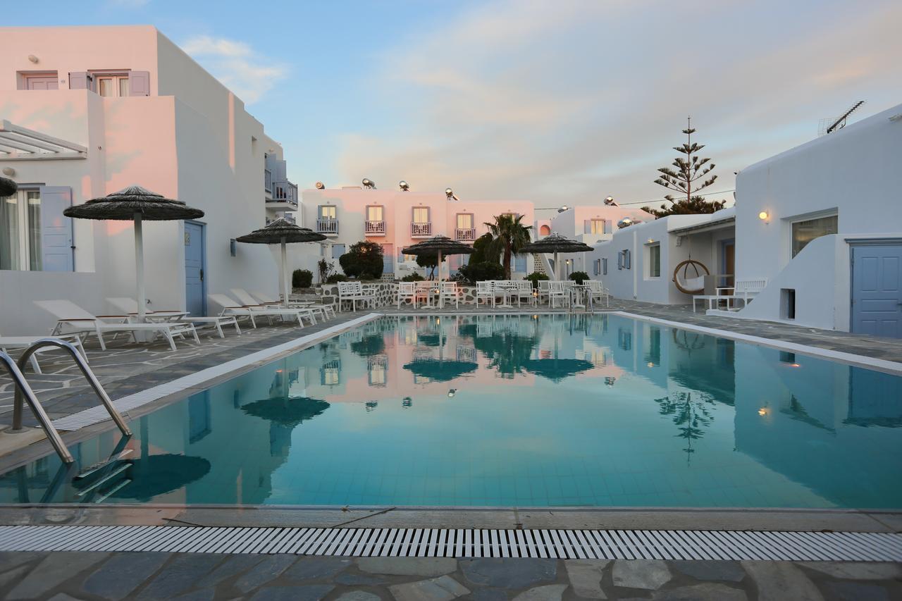 aeolos mykonos hotel - hospedagem barata na grécia