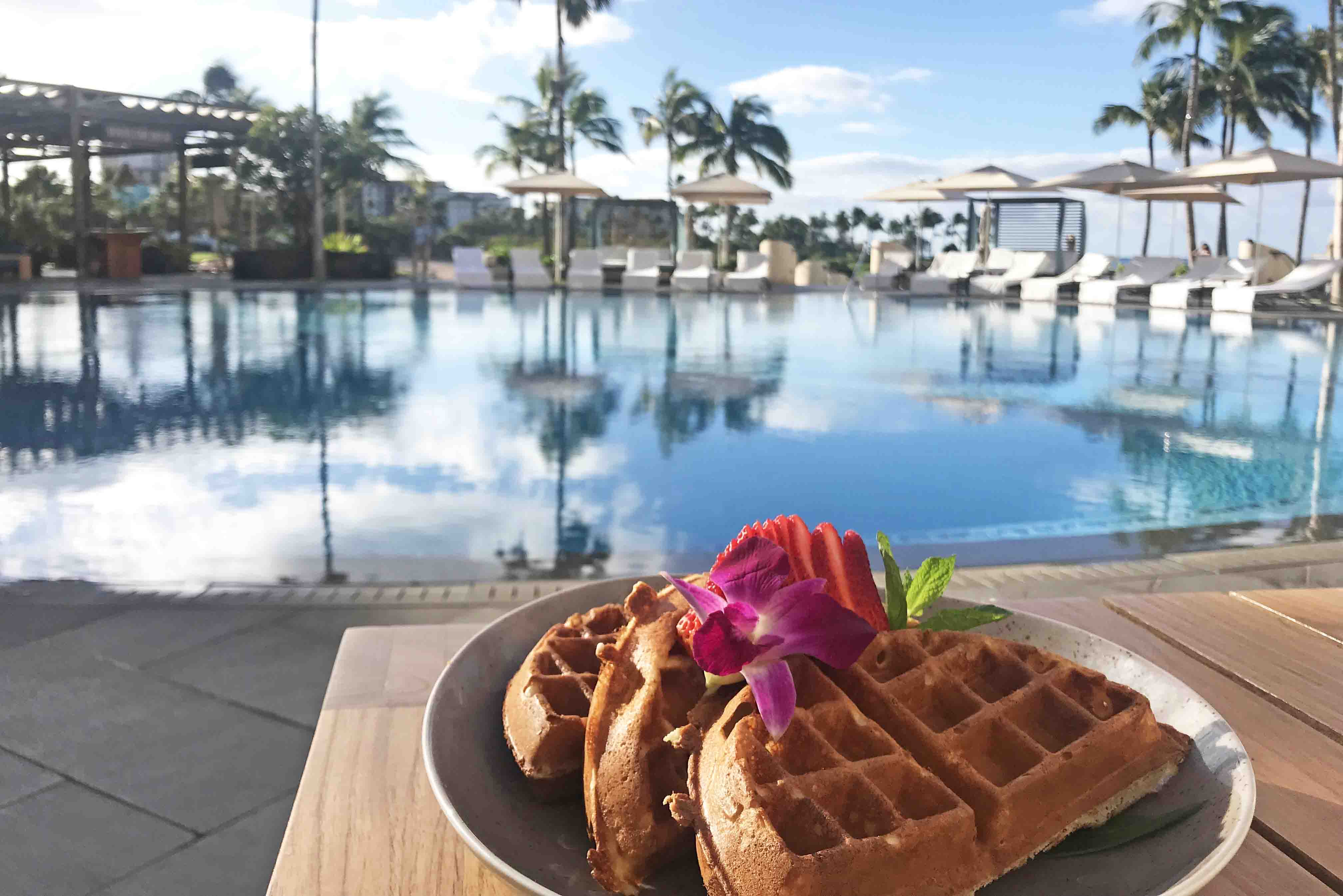 breakfast four seasons oahu hawaii