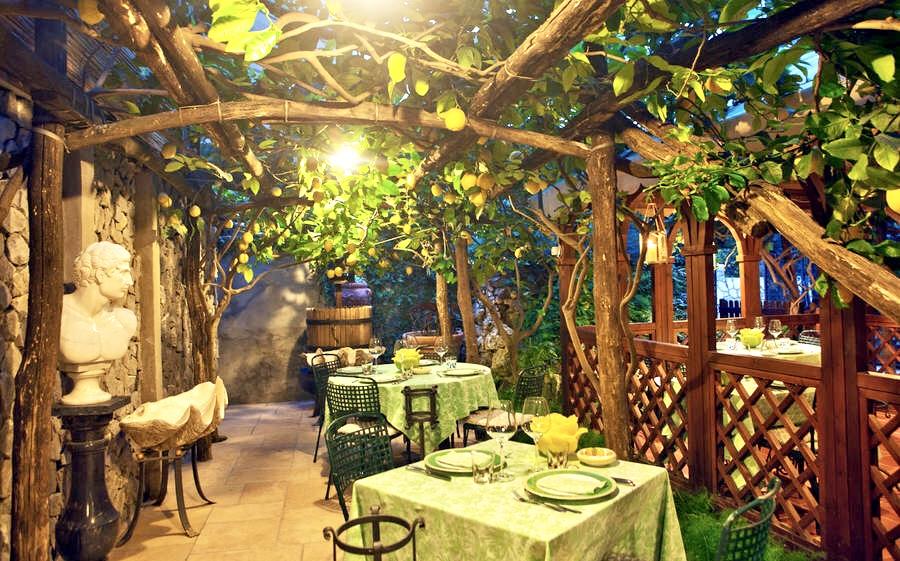 Restaurante Da Paolino - Capri - onde comer em Capri