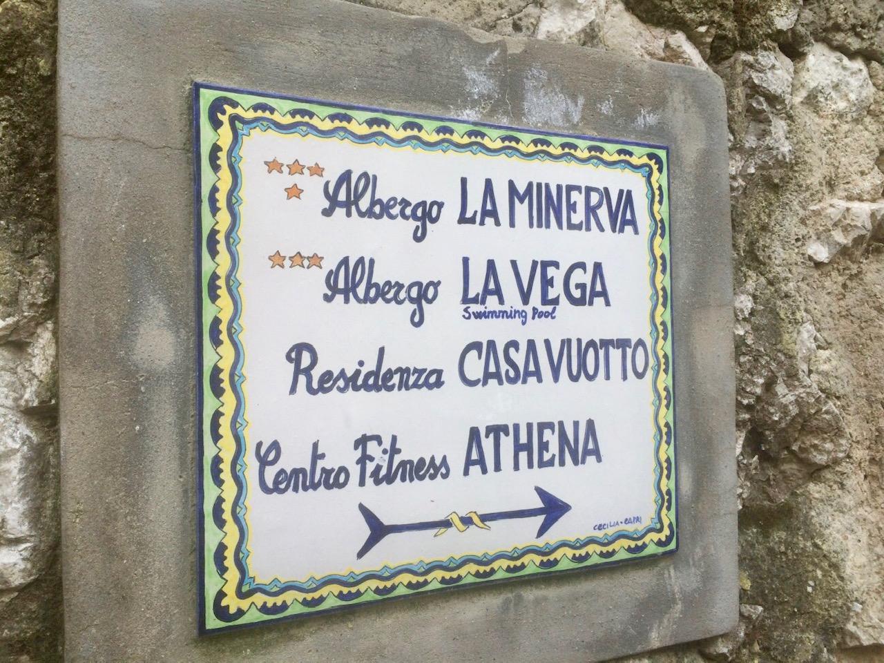 dicas de capri itália