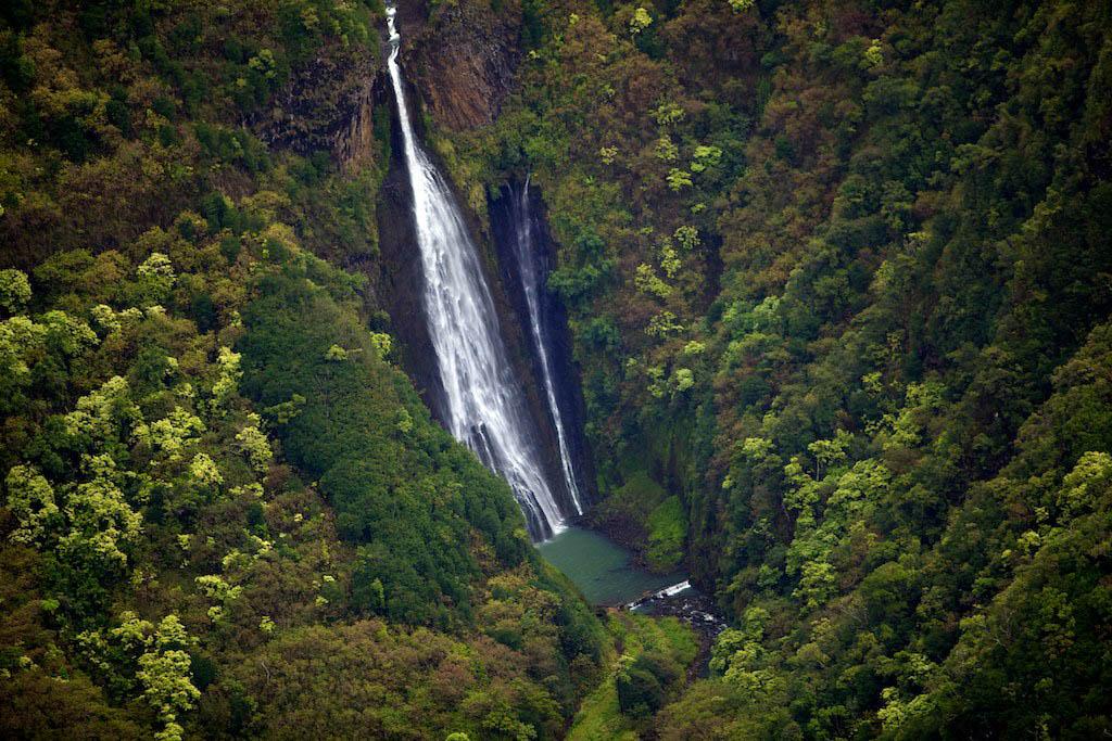 Jurassic Park Falls - Kauai Hawaii - Manawaiopuna Falls