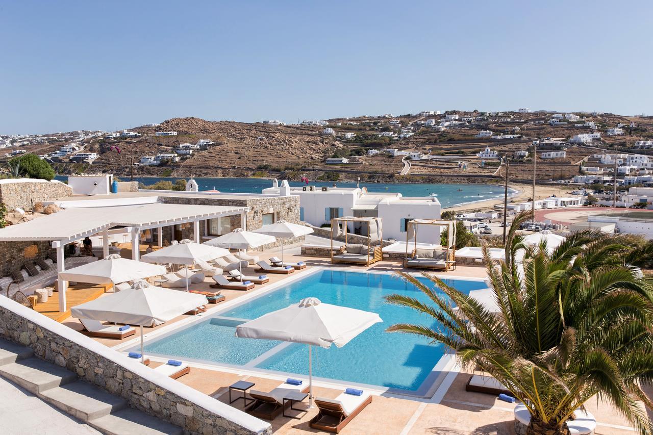 osom resort mykonos - dicas de hotéis baratos em mykonos grécia