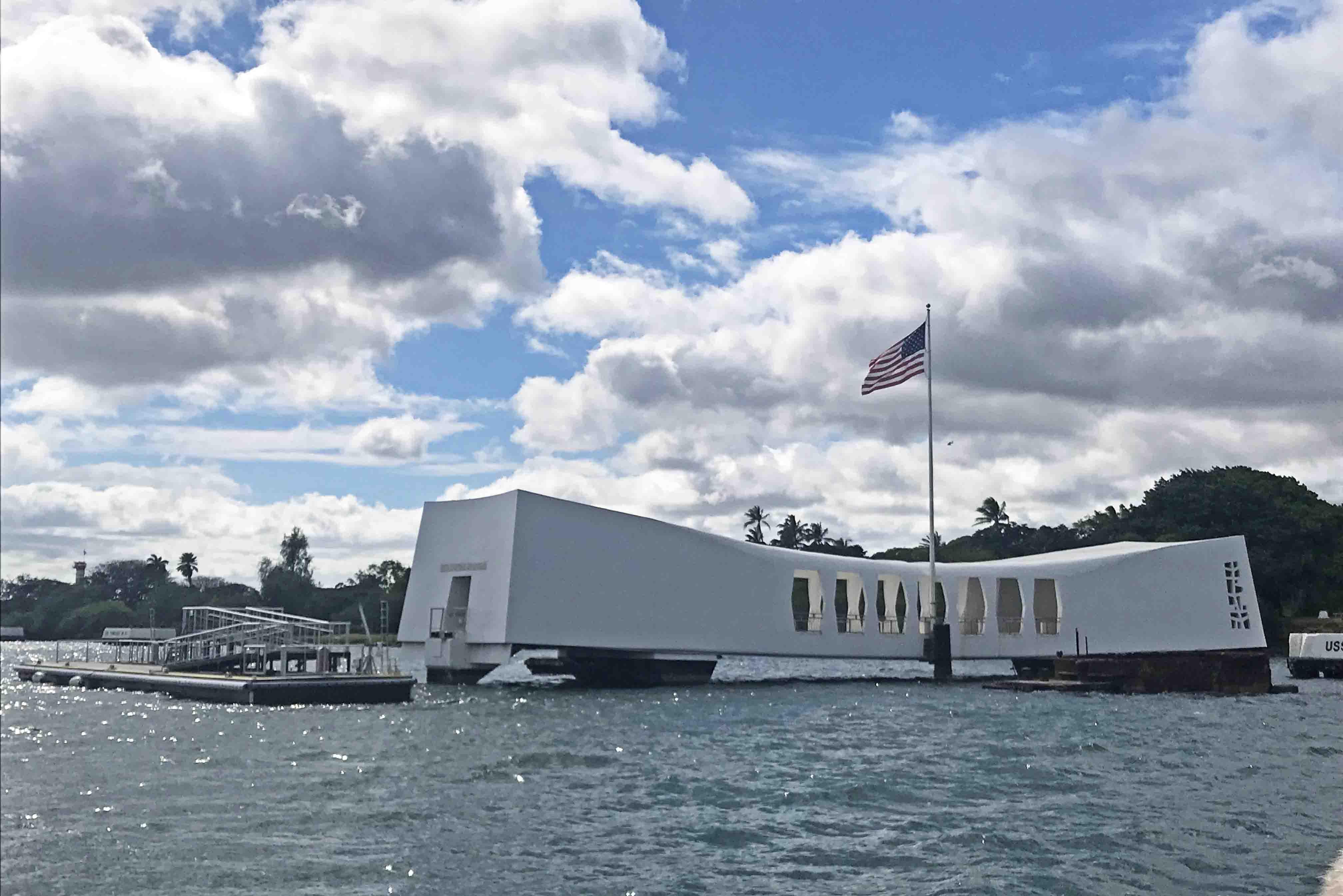 pearl harbor arizona memorial oahu hawaii