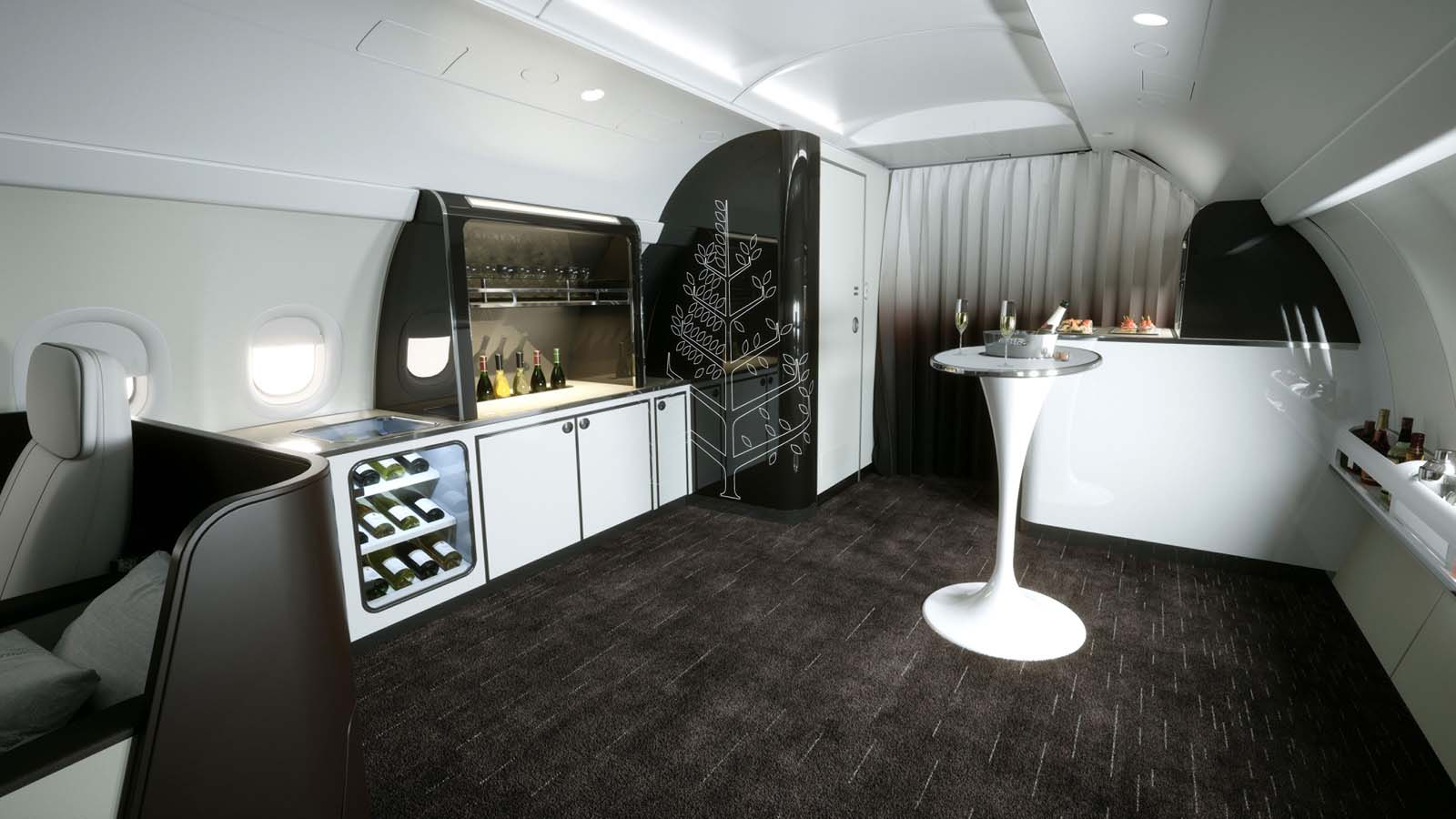 Four Seasons Private Jet