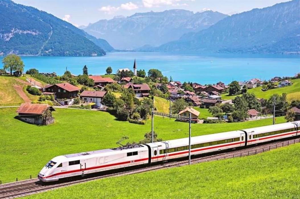 Lake Brienz - Viagem para a Suíça no verão - Lake Brienz