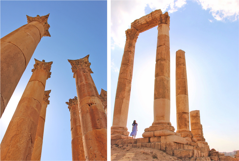 viagem para a jordânia - jerash amã capital