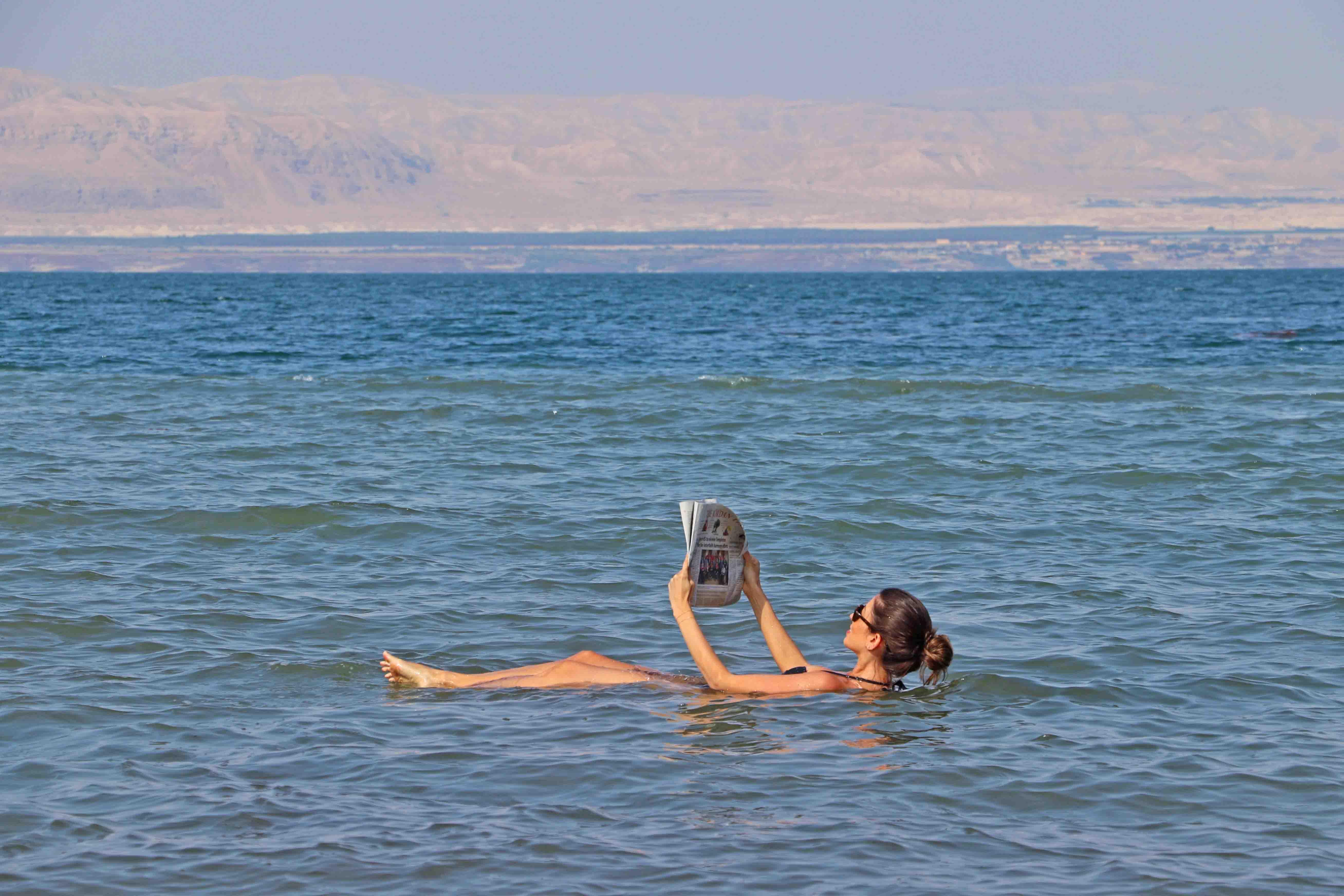 viagem para jordânia - mar morto