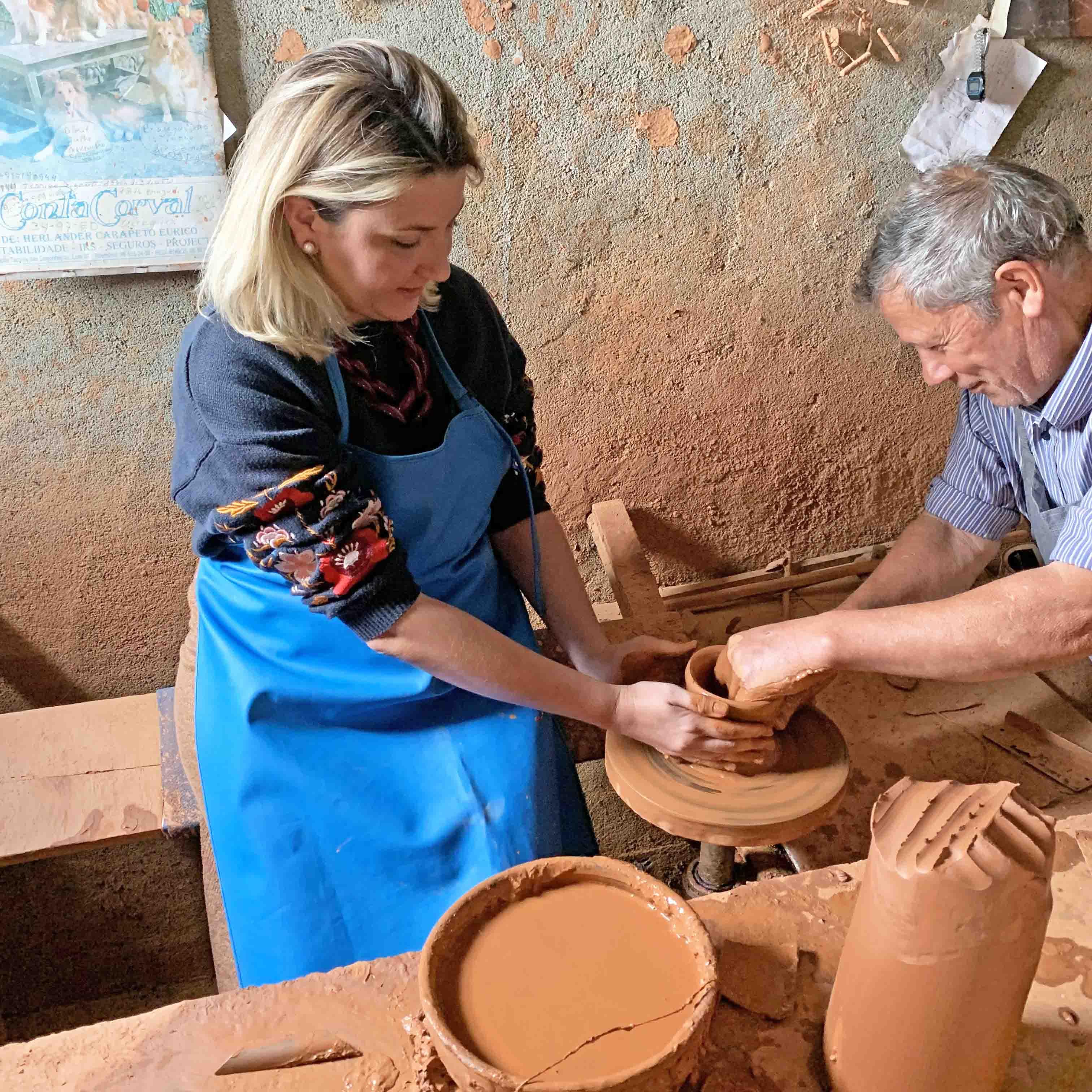 Oficina cerâmica - Olaria Bulhão - Alentejo - Portugal