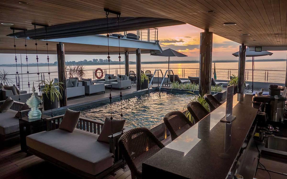 Scenic Aura River Cruise - Cruzeiro Sudeste Asiático - Rio Mekong e Irrawaddy