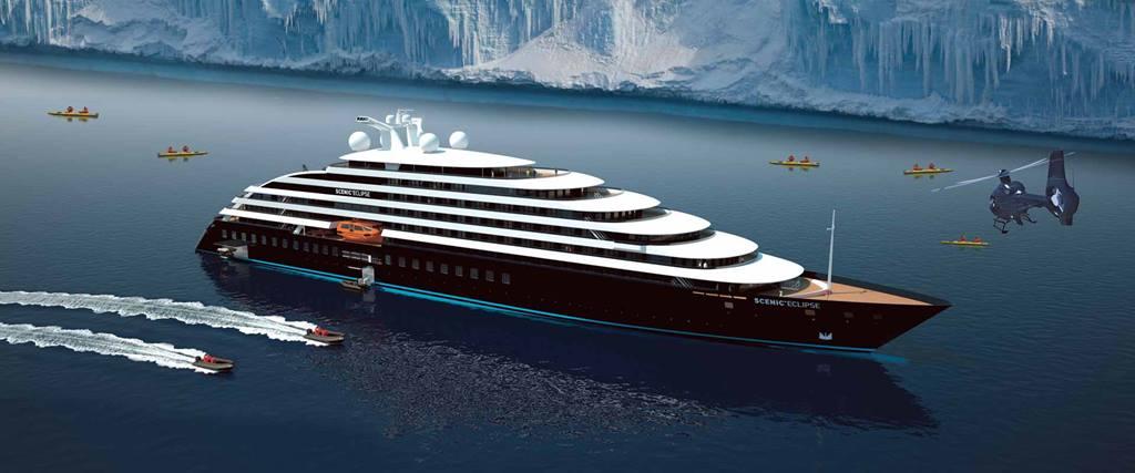 Scenic Eclipse - ocean cruise exterior