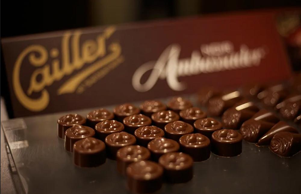 Trem do Chocolate - Suíça - Verão