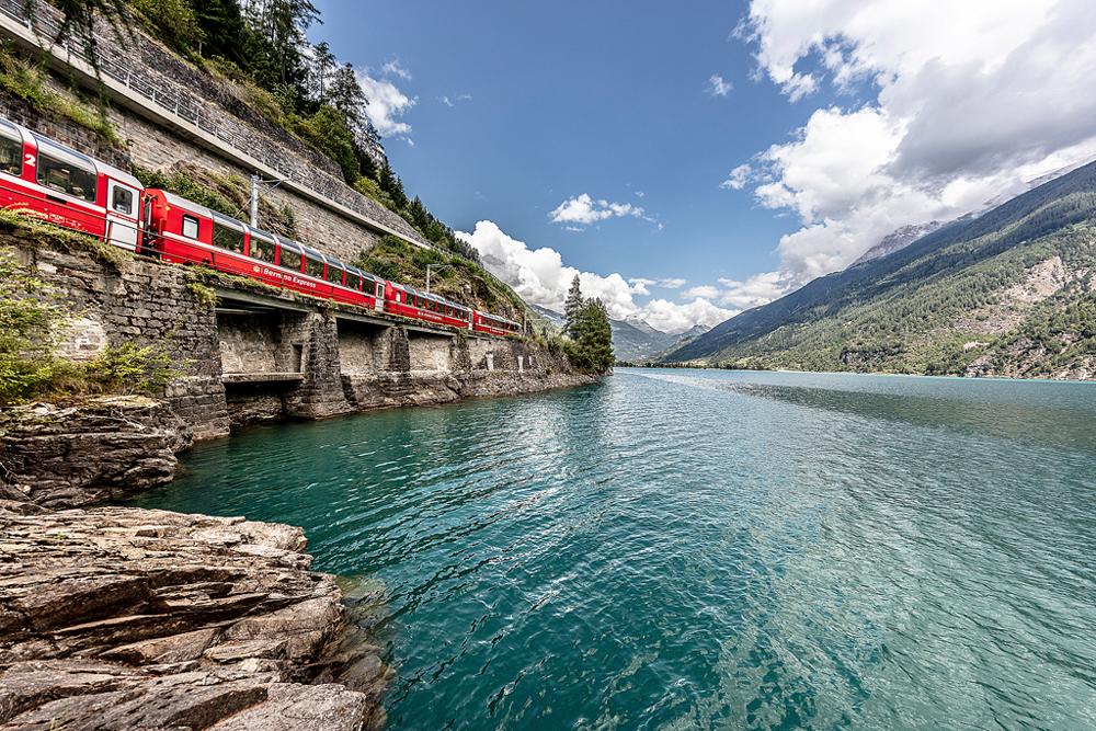 Viagem para a Suíça no verão - trens panorâmicos