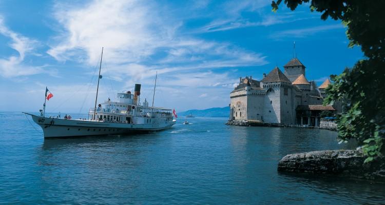 Viagem para a Suíça no verão - cruzeiros em lagos - Swiss Travel Pass