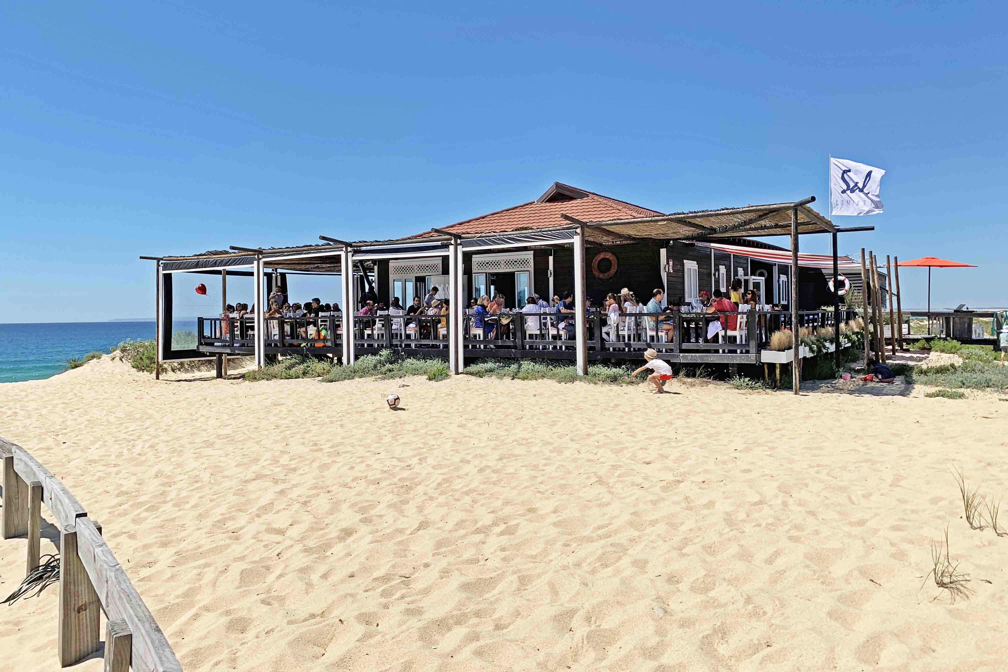 Restaurante Sal - Praia do Pego - Comporta - Portugal