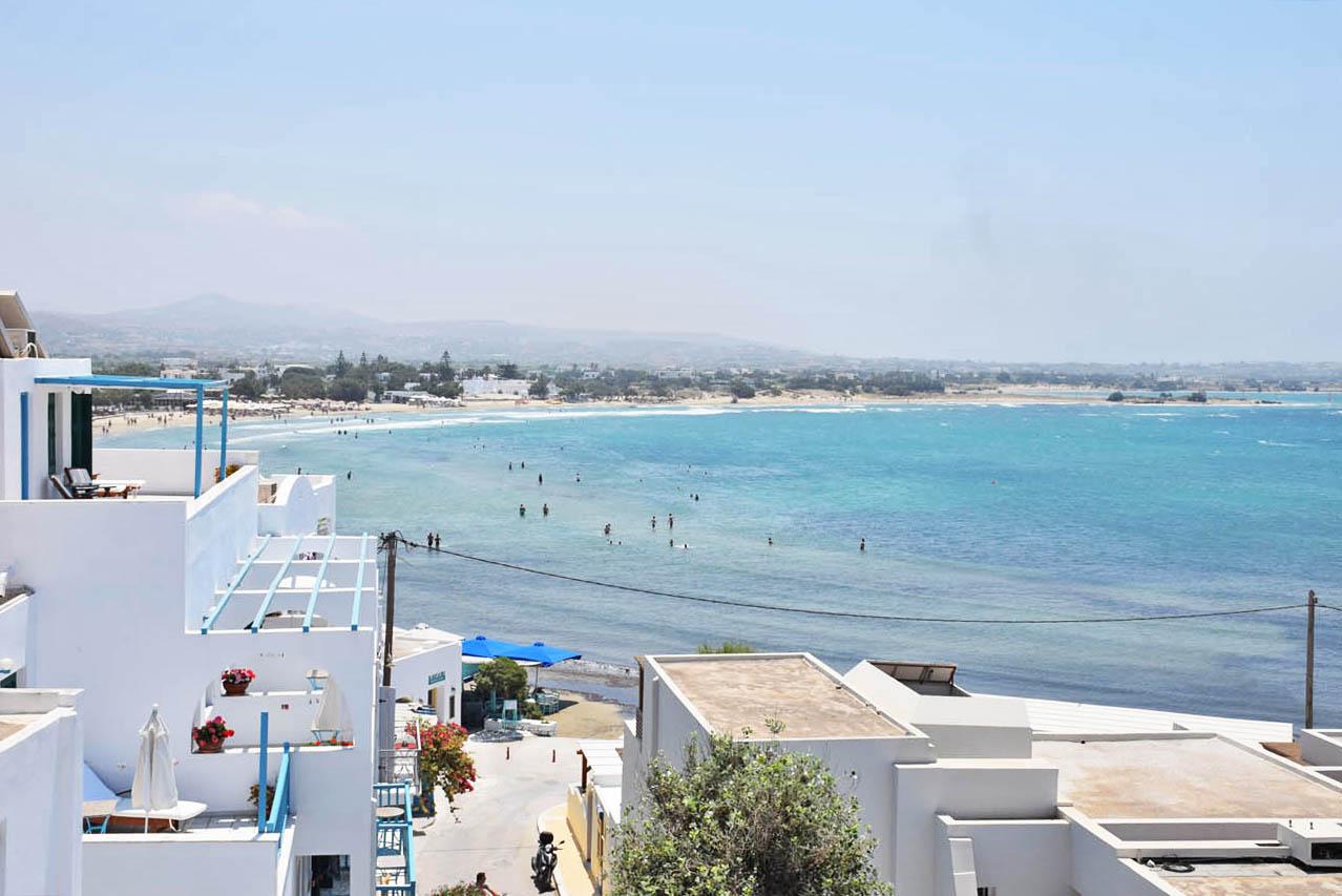 Agios Georgios Beach - Naxos - Melhores praias de Naxos