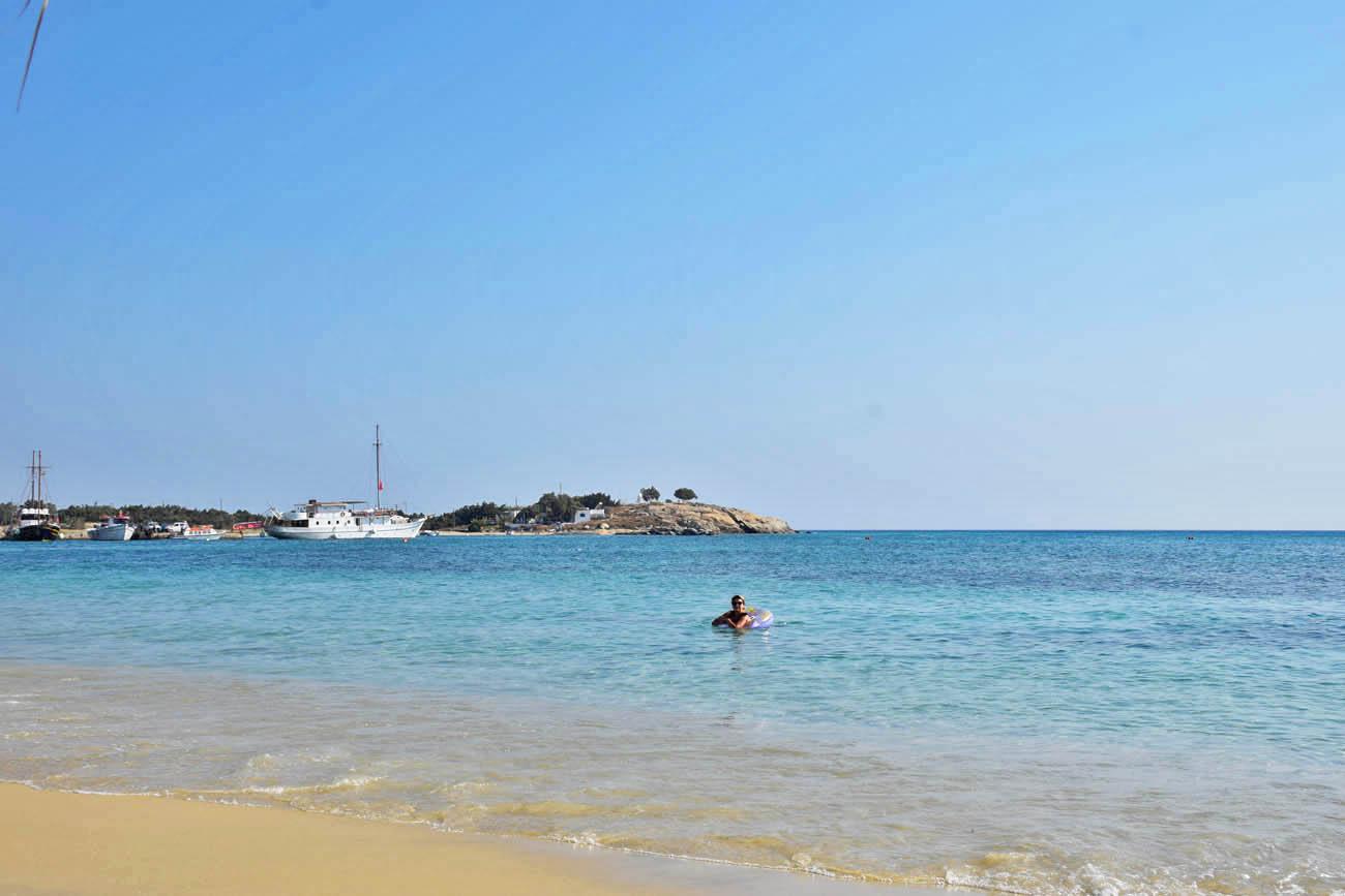 Agia Anna Beach - Naxos - Melhores praias de Naxos