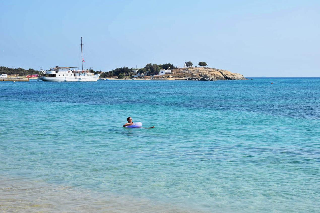 Melhores praias de Naxos