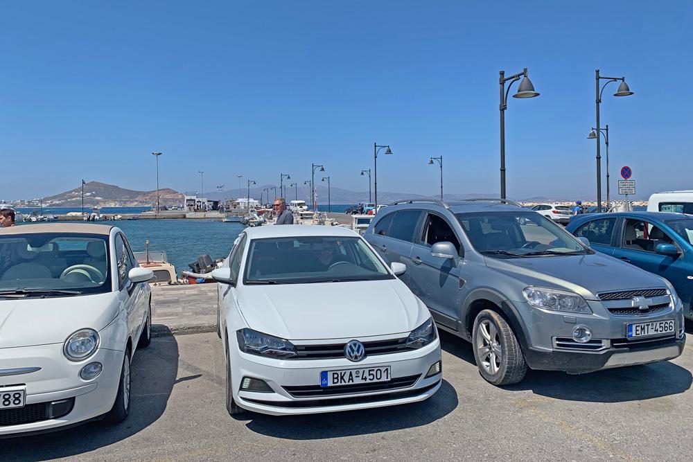 Aluguel de carro em Naxos Grécia