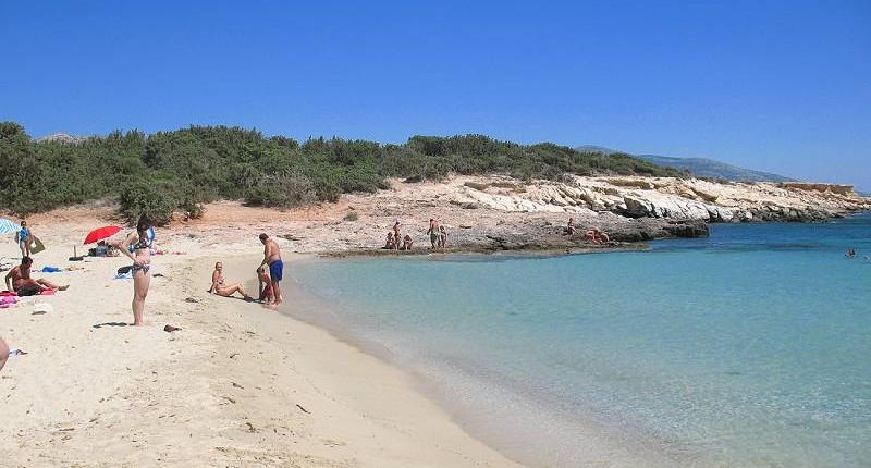 Alyko Beach - Naxos - melhores praias de Naxos