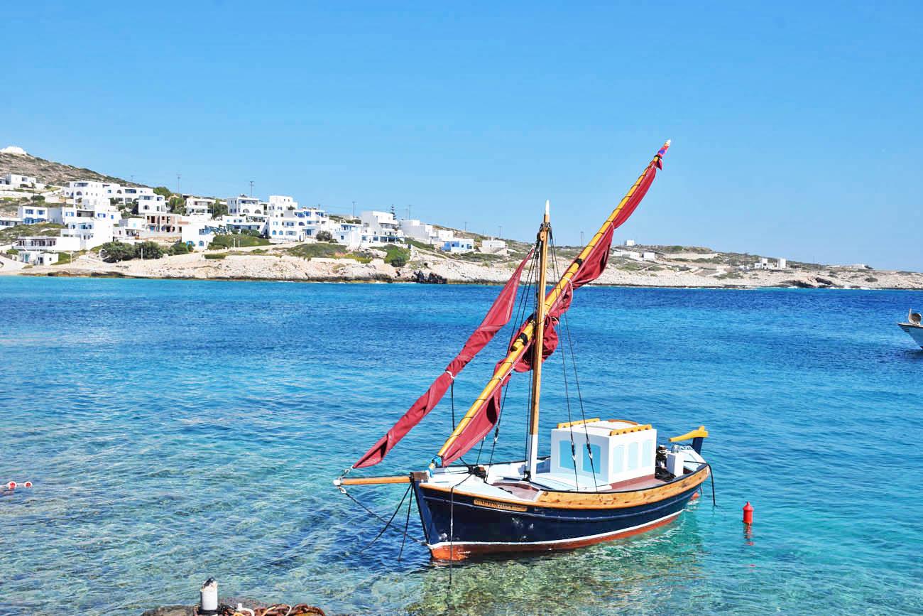 Donoussa - ilha na Grécia